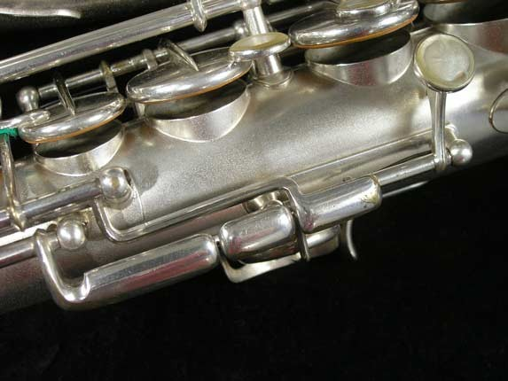 Selmer Matte Silver Plate Balanced Action Alto - 26987 - Photo # 15