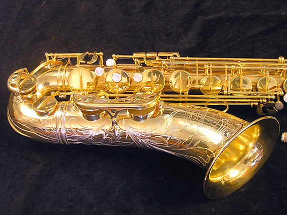 Selmer Gold Plate Super Balanced Action Tenor - 51584 - Photo # 3