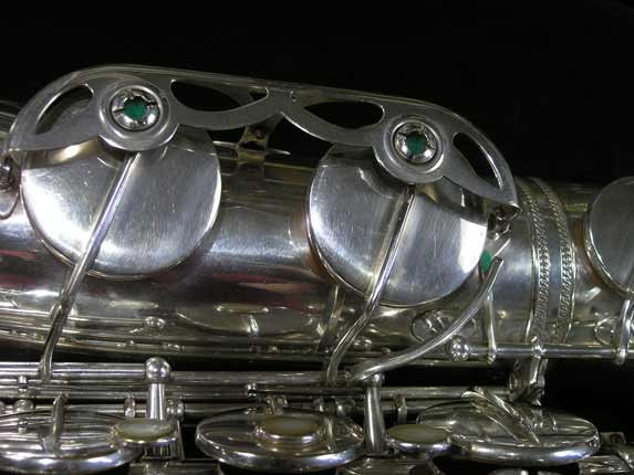 Selmer Silver Plate Mark VI Tenor - 63779 - Photo # 16