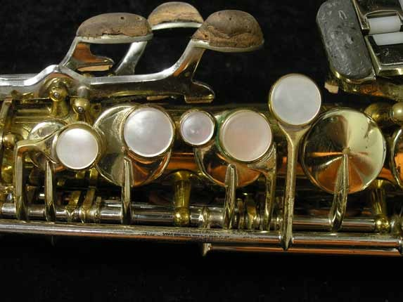 King Lacquer-Sterling Neck Super 20 Alto - 415043 - Photo # 7