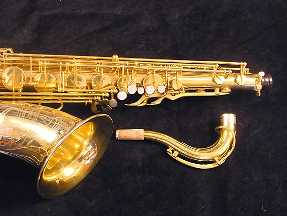 Selmer Gold Plate Super Balanced Action Tenor - 51584 - Photo # 4