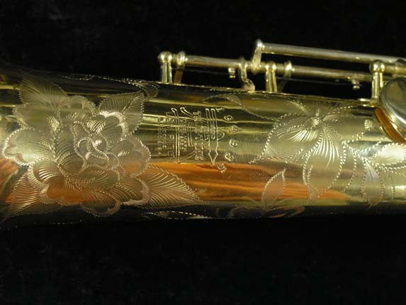 Buescher Gold Plate True Tone Tone Soprano - 194935 - Photo # 16