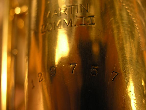 Martin Gold Plate Committee II Alto - 129757 - Photo # 19