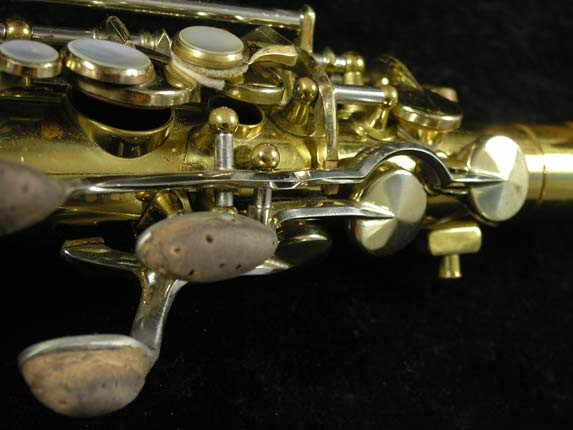 King Lacquer-Sterling Neck Super 20 Alto - 415043 - Photo # 8