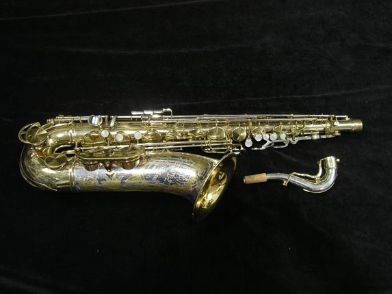 King Silver-Sonic Gold Inlay Super 20 Tenor - 372421 - Photo # 1