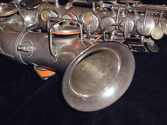 Conn Nickel Plate Chu Berry Curved Soprano - 212545 - Photo # 7