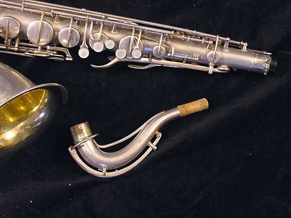 Conn Silver Plate Chu Berry Tenor - 235267 - Photo # 3