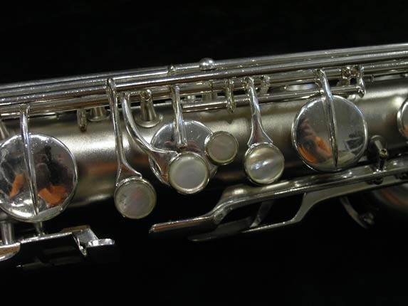 Conn Silver Plate 12M Baritone - 272488 - Photo # 8