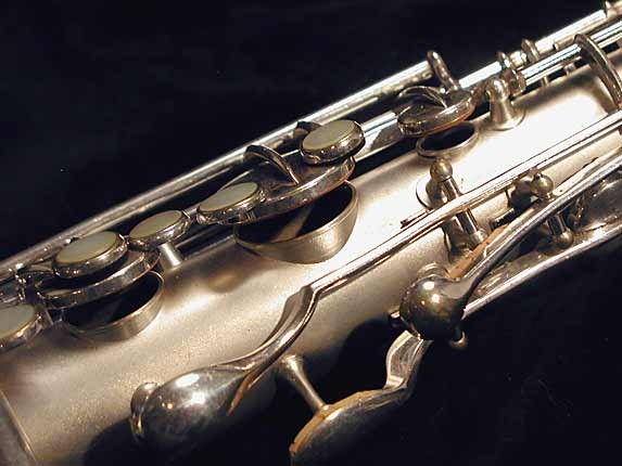 "Conn ""New Wonder"" Matte Silver Plate Tenor - 131325 - Photo # 8"
