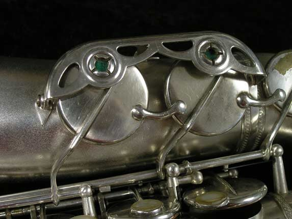 Selmer Matte Silver Plate Balanced Action Alto - 26987 - Photo # 17