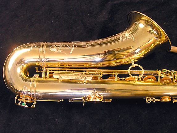 Selmer Gold Plate Super Balanced Action Tenor - 51584 - Photo # 5