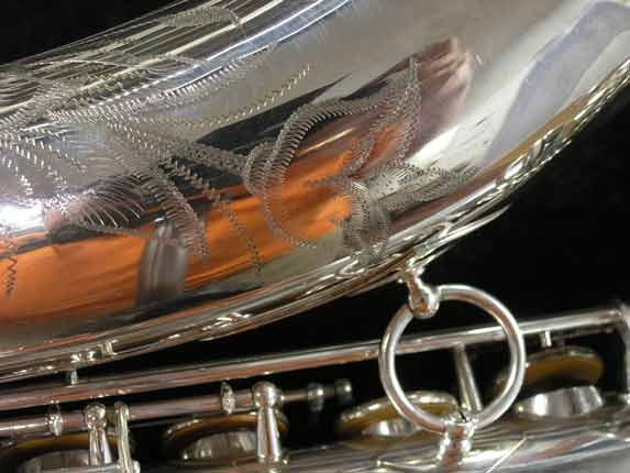 Selmer Silver Super Balanced Action Tenor - 50980 - Photo # 22