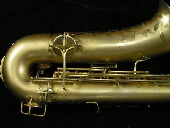 Buescher Gold Plate True Tone Tenor - 211585 - Photo # 3