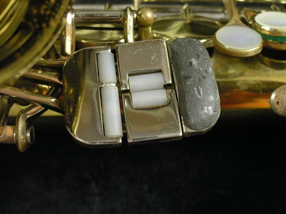 King Lacquer-Sterling Neck Super 20 Alto - 415043 - Photo # 9