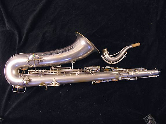Conn Silver Plate Chu Berry Tenor - 235267 - Photo # 4