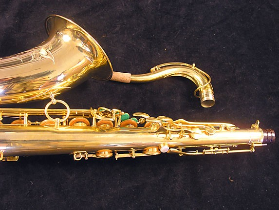 Selmer Gold Plate Super Balanced Action Tenor - 51584 - Photo # 6