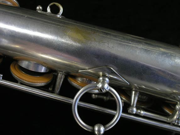 Selmer Silver Plate Mark VI Tenor - 102079 - Photo # 17
