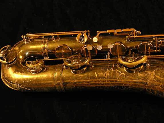 Selmer Lacquer Mark VI Baritone - 100476 - Photo # 3