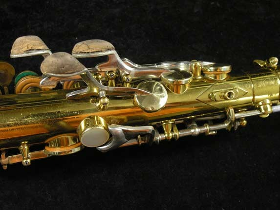 King Lacquer-Sterling Neck Super 20 Alto - 415043 - Photo # 10