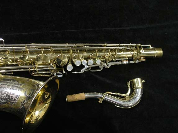 King Silver-Sonic Gold Inlay Super 20 Tenor - 372421 - Photo # 3