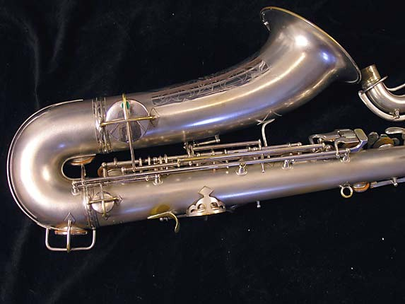 Conn Silver Plate Chu Berry Tenor - 235267 - Photo # 5
