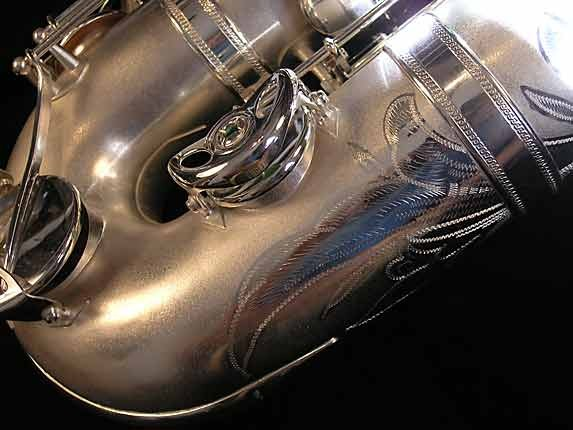 Selmer Matte Silver Super Balanced Action Bari Sax - 52454 - Photo # 20