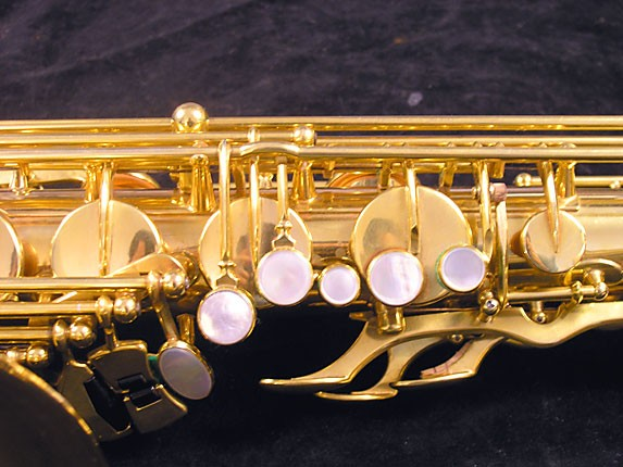 Selmer Gold Plate Super Balanced Action Tenor - 51584 - Photo # 7