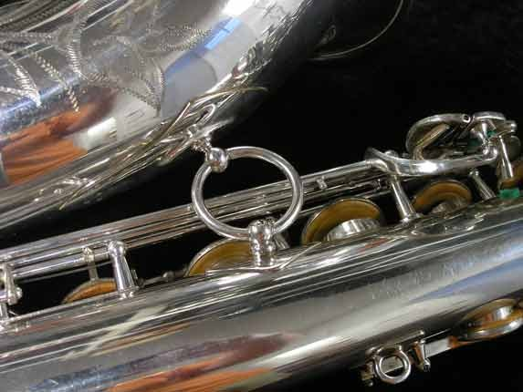 Selmer Silver Super Balanced Action Tenor - 50980 - Photo # 24