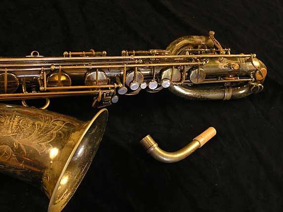 Selmer Lacquer Mark VI Baritone - 100476 - Photo # 4