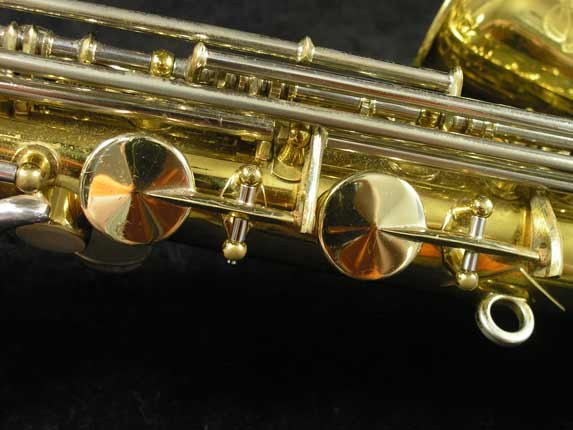 King Lacquer-Sterling Neck Super 20 Alto - 415043 - Photo # 11
