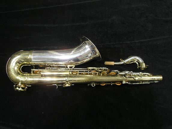 King Silver-Sonic Gold Inlay Super 20 Tenor - 372421 - Photo # 4
