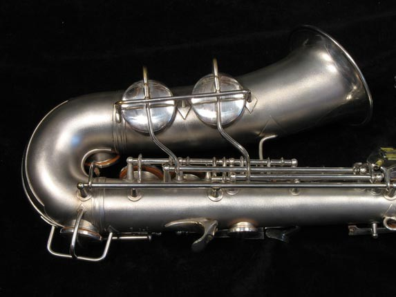 Conn Silver Plate Transitional 6M Alto - 250669 - Photo # 11