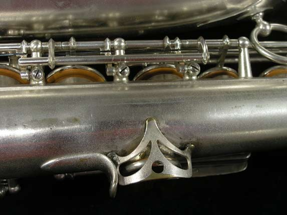 Selmer Matte Silver Plate Balanced Action Alto - 26987 - Photo # 20