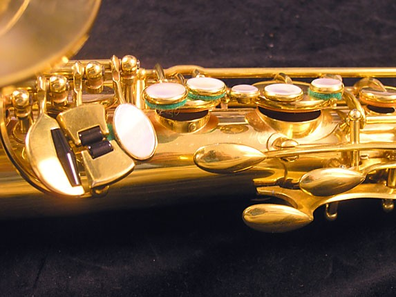 Selmer Gold Plate Super Balanced Action Tenor - 51584 - Photo # 8