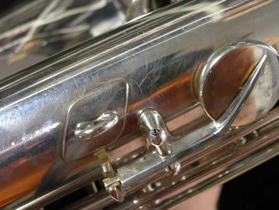 Selmer Silver Super Balanced Action Tenor - 50980 - Photo # 25