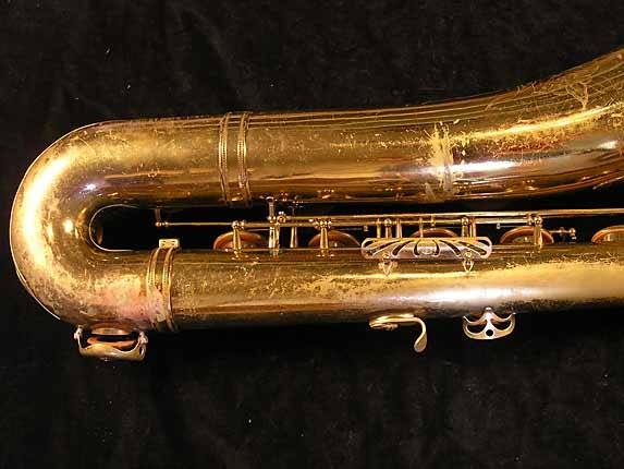 Selmer Lacquer Mark VI Baritone - 100476 - Photo # 5