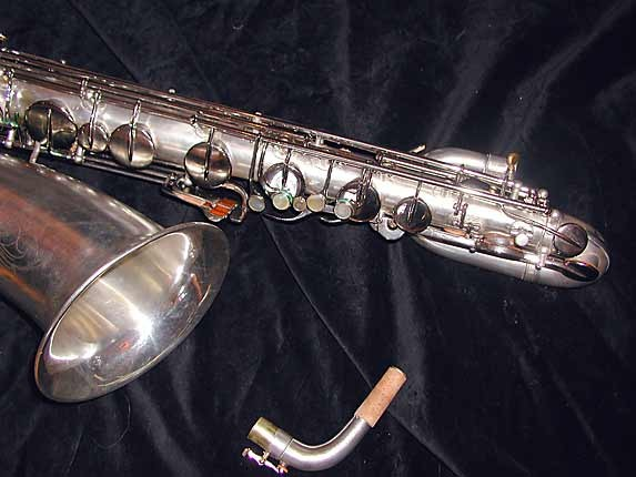 "Buescher Silver Plate Aristocrat ""Big B"" Baritone - 331816 - Photo # 4"
