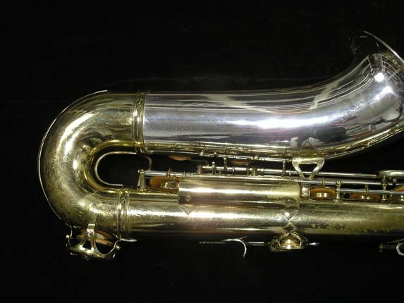 King Silver-Sonic Gold Inlay Super 20 Tenor - 372421 - Photo # 5