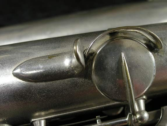 Selmer Matte Silver Plate Balanced Action Alto - 26987 - Photo # 21