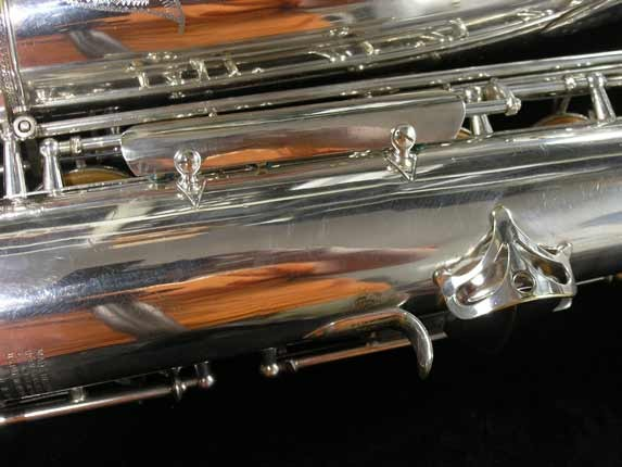 Selmer Silver Super Balanced Action Tenor - 50980 - Photo # 26