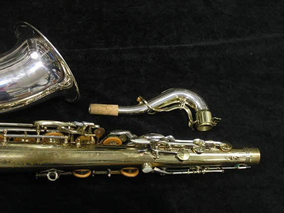 King Silver-Sonic Gold Inlay Super 20 Tenor - 372421 - Photo # 6