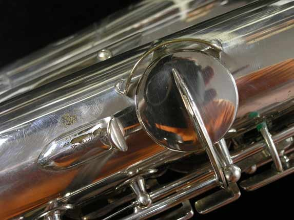 Selmer Silver Super Balanced Action Tenor - 50980 - Photo # 27