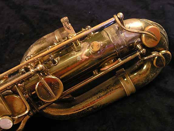 Selmer Lacquer Mark VI Baritone - 100476 - Photo # 7