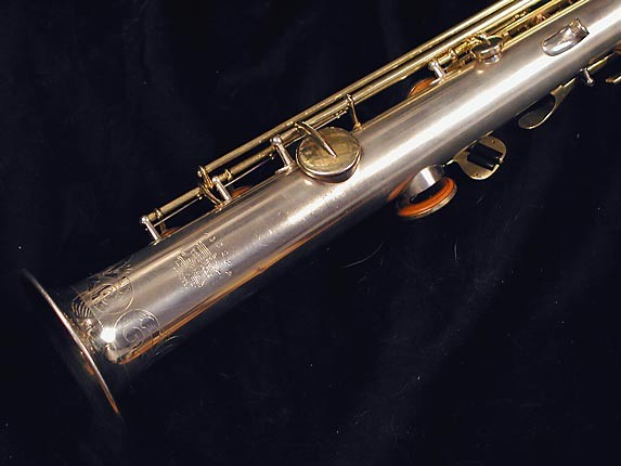 Buescher Silver w/ Gold Keys True Tone Soprano - 232227 - Photo # 5
