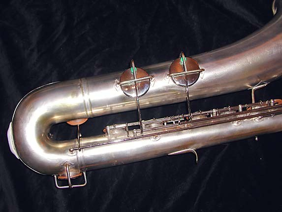 "Buescher Silver Plate Aristocrat ""Big B"" Baritone - 331816 - Photo # 6"