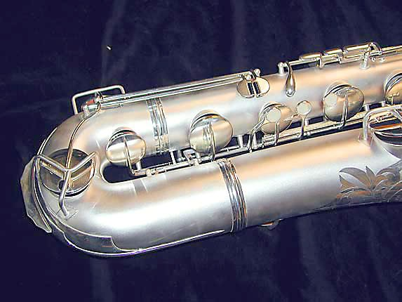 Conn Silver Plate Chu Berry Baritone - 189716 - Photo # 2