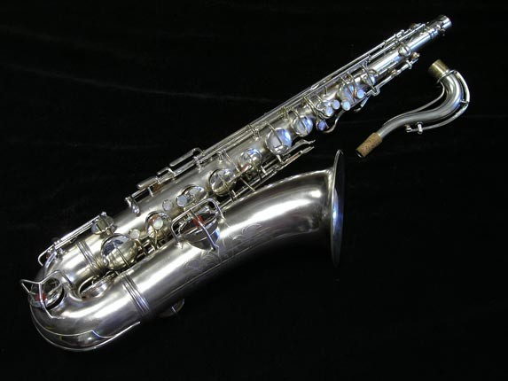 "Conn ""New Wonder"" Matte Silver Plate Tenor - 65941 - Photo # 1"