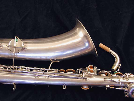 "Buescher Silver Plate Aristocrat ""Big B"" Baritone - 331816 - Photo # 7"