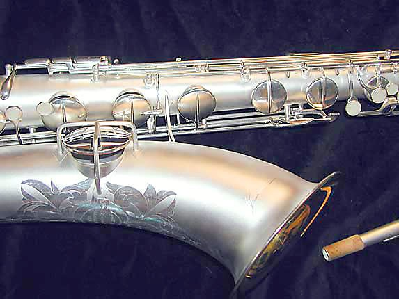Conn Silver Plate Chu Berry Baritone - 189716 - Photo # 3
