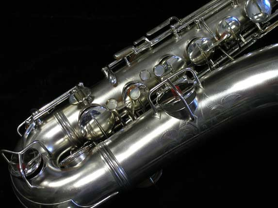 "Conn ""New Wonder"" Matte Silver Plate Tenor - 65941 - Photo # 2"